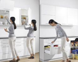 Фото: правильная организация места хранения на кухне