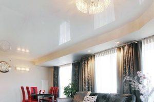 Натяжной потолок – как выбрать современную конструкцию и эксклюзивную деталь интерьера