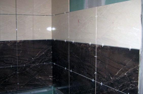 Как укладывать плитку в ванной своими руками